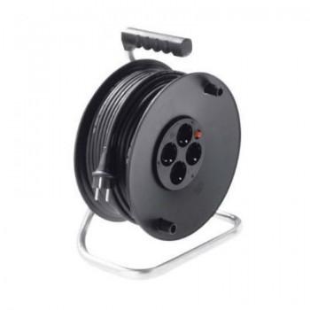 Kabelhaspel 4 x 1,5mm2 / 4-voudig / 50m / IP20