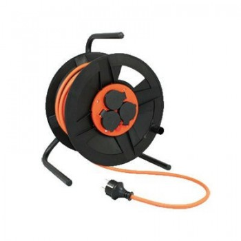Kabelhaspel 3 x 1,5mm2 / 4-voudig / 50m / IP44