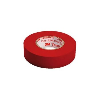 Isolatietape 15mm x 10m Rood