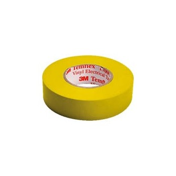 Isolatietape 15mm x 10m Geel
