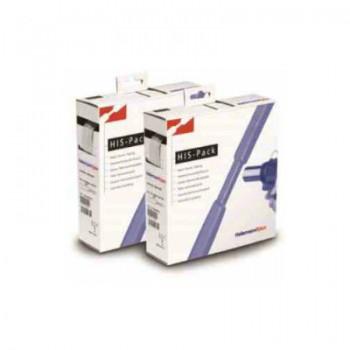 Krimpkous box zwart met krimpfactor 2:1 (12,7/6,4mm)