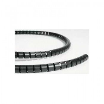 spiraalbundelband zwart 8mm