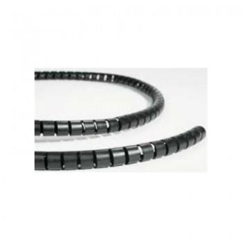 spiraalbundelband zwart 20mm