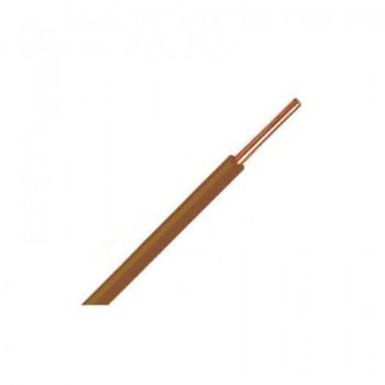 Bruin VD-draad 2,5 mm2 [ 1 rol ]