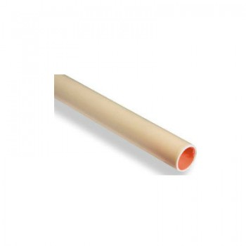 PVC buis creme 19 mm (3/4) low friction