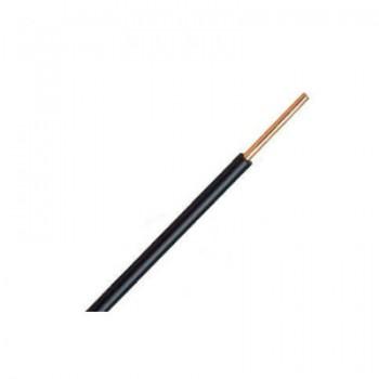Zwart VD-draad 1,5 mm2 [ vanaf 3 rollen ]