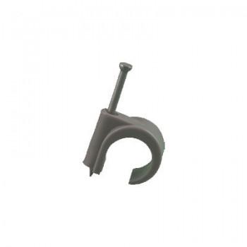Spijkerclips 16 - 19 mm GRIJS (voor 16 en 19 mm buis)