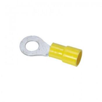 Ringkabelschoen geel M4 nom. doorsnede 4,0 - 6,0mm2