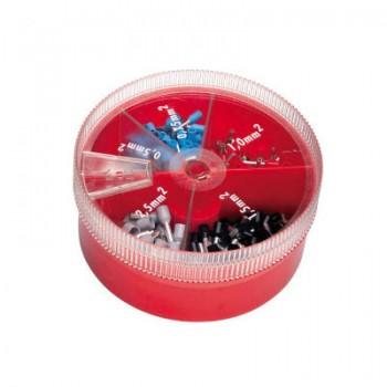 Adereindhuls assortimentsdoos 0,5-2,5 mm2 (400 stuks)