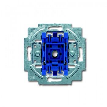 Busch-Jaeger thermoplast inbouw wisselschakelaar SI Linear 10A 1wip/drukker