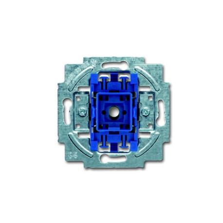 Busch-Jaeger thermoplast inbouw wisselschakelaar SI 10A 1wip/drukker