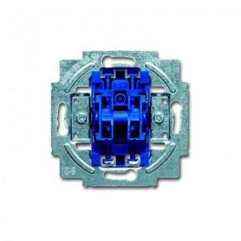 Busch-Jaeger thermoplast inbouw serieschakelaar SI Linear 10A 2wip/drukker