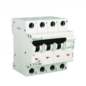 Eaton Holec - Installatieautomaat 20A, 3p+n C-karakteristiek