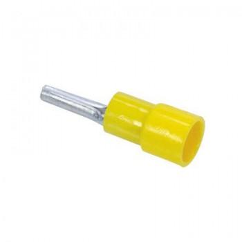 Draadpen geel 14mm - 4 mm2 t/m 6 mm2