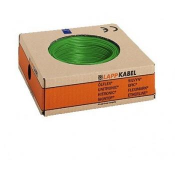Montagedraad H05V2-K 90° 0,5mm2 groen