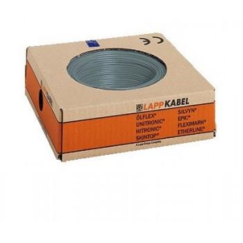 Montagedraad H05V2-K 90° 0,5mm2 grijs