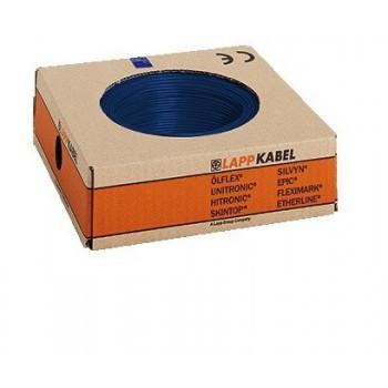 Montagedraad H05V2-K 70° 1,5mm2 donkerblauw