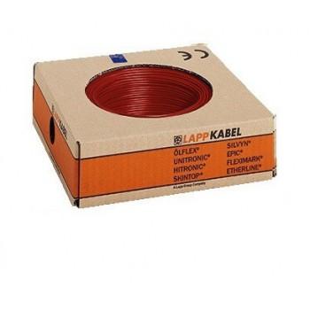 Montagedraad H07V-K 70° 4 mm2 rood