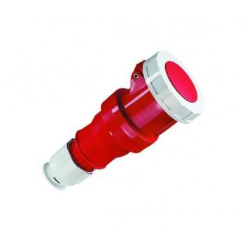 CEE Contrastekker 125 Ampere 4-polig plus aarde multi-grip (5-polig)