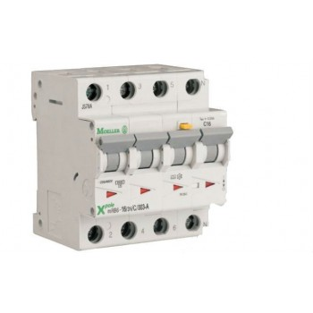 Eaton Moeller - Aardlekautomaat ( alamat ) 16A, 3p+n, 30mA, C-karakteristiek