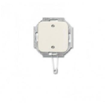 Busch-Jaeger SI inbouw wisselschakelaar 10A trekkoord creme wit