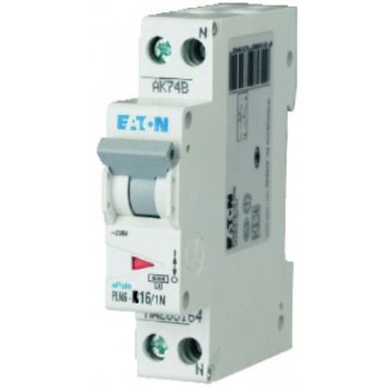 Eaton Holec - Installatieautomaat 16A, 1p+n, B-karakteristiek (55 Flex)