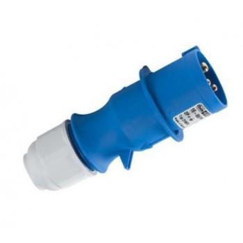 CEE stekker 16 Ampere 2-polig plus aarde multi-grip ( 3-polig )