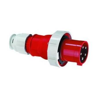 CEE stekker 63 Ampere 4-polig plus aarde multi-grip ( 5-polig )