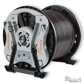 3x haspel 125 meter 5 x 2,5 mm2 installatiekabel YMvK incl. gratis mobiway