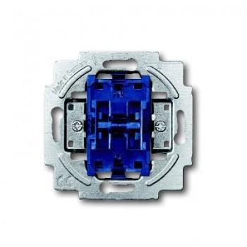 Busch-Jaeger thermoplast inbouw kruischakelaar SI 10A 1 wip/drukker