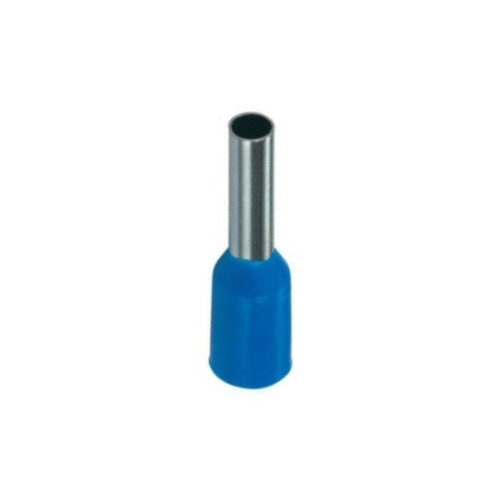 Geïsoleerde adereindhuls 2,5 mm2 in blauw