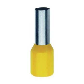 Geïsoleerde adereindhuls 70 mm2 in geel