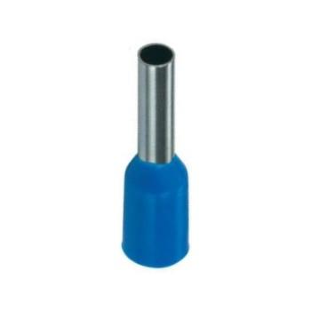 Geïsoleerde adereindhuls  50 mm2 in blauw per 25 stuks