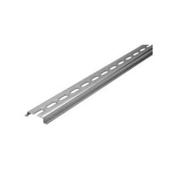 TS35X7,5 (DIN) RAIL MET SLEUFGATEN