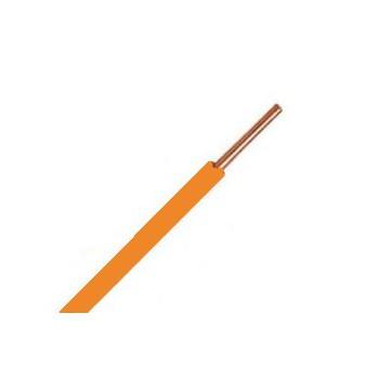 Oranje VD-draad (koppeldraad) 1,5 mm2 [ 1 rol ]