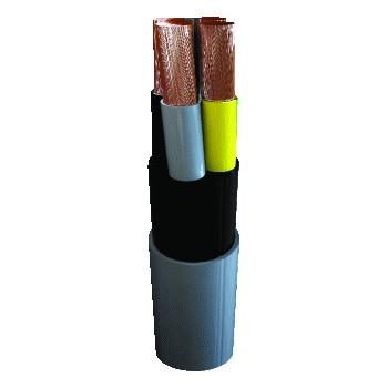 5 x 10 mm2 instalflex kabel YMvK Dca