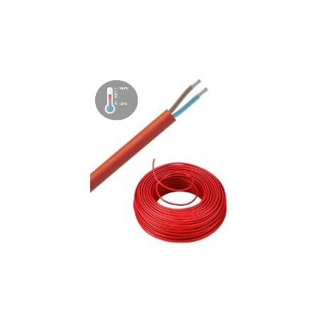 2 x 1 mm2 Siliconenkabel SIH-F