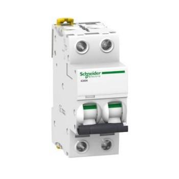 Schneider installatieautomaat 16A, 2P, D-karakteristiek