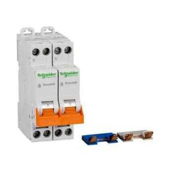 Schneider Domae installatieautomaat (fornuis) 16A, 2 x 1P+N, B-karakteristiek