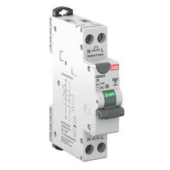 Aardlekautomaat 2P 16A c-karakteristiek