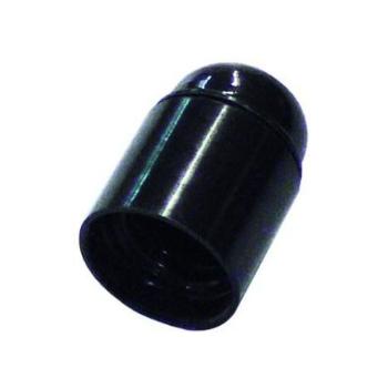 Lamphouder E27  M10 Zwart